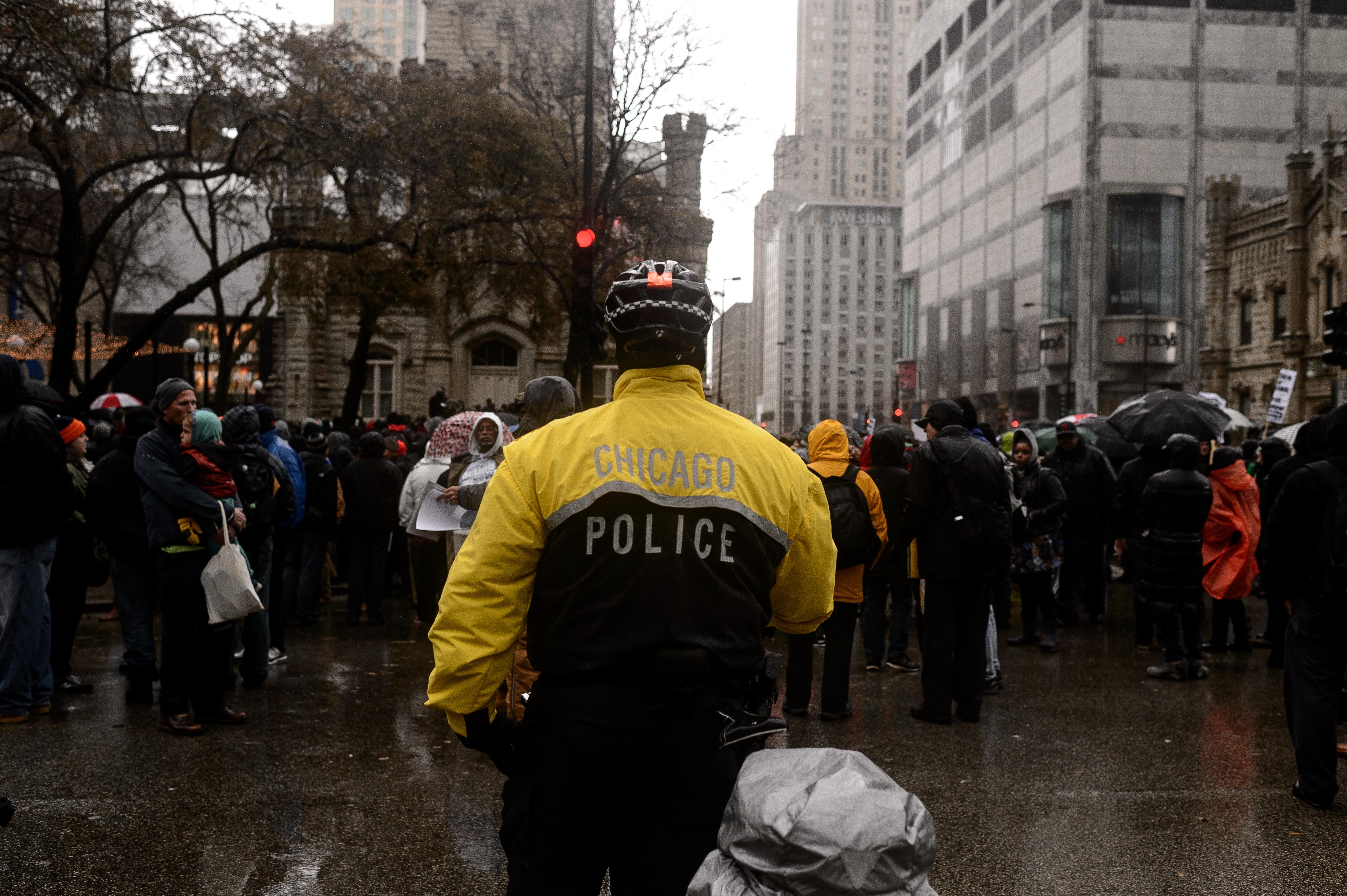 Laquan McDonald Thanksgiving Protest